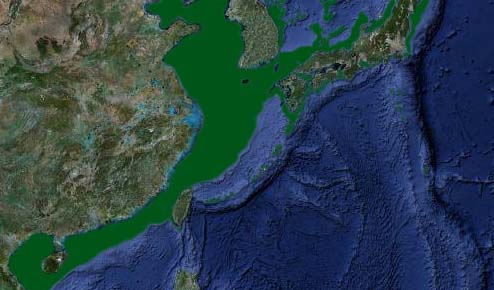 China - Japan sea-levels during last Glacial Maximum